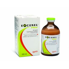 Excenel Flow 50mg/ml Injection 100ml