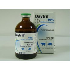 Baytril 10% Injection 100ml