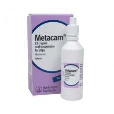Metacam 15mg/ml Oral Suspension Pigs 100ml
