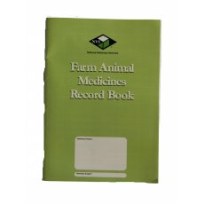 Farmers Medicine Records Book