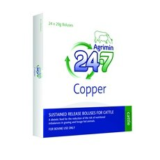 Agrimin 24-7 Copper Cattle Bolus 24 pack