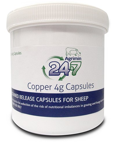 Agrimin 24-7 Copper Sheep 250 pack