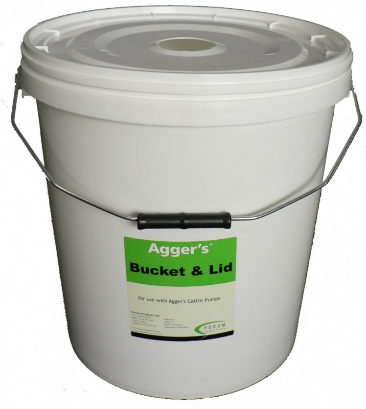Aggers Bucket & Lid Lite